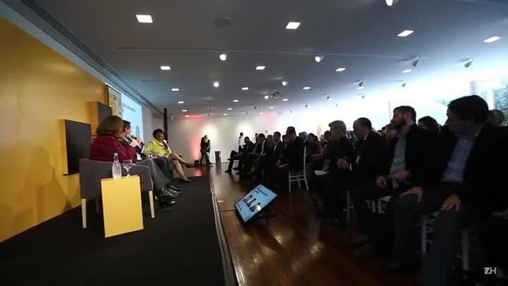 Tulio Milman, Rosane de Oliveira e Marta Sfredo: informação exclusiva e opinião