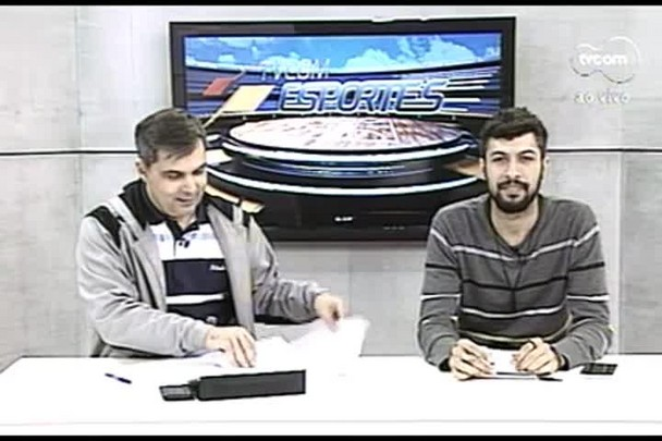 TVCOM Esportes. 3º Bloco. 21.07.16