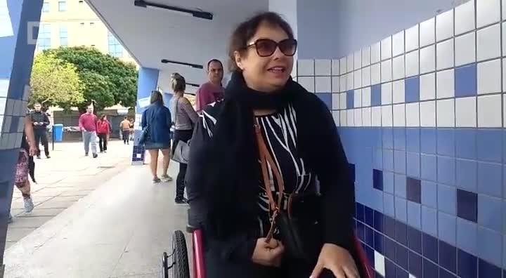 Empresária cadeirante fala sobre a acessibilidade e biometria na votação