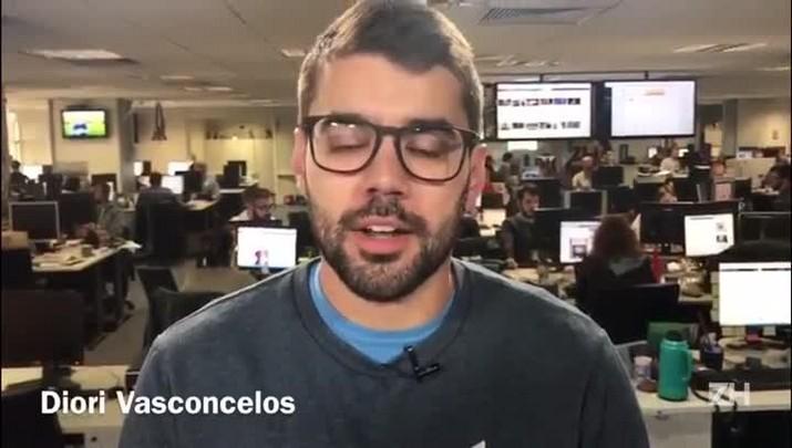Diori Vasconcelos comenta a arbitragem de São Paulo x Grêmio