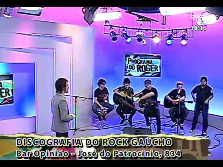 Programa do Roger - Confira a participação da banda Tequila Baby - bloco 3 - 06/02/2013