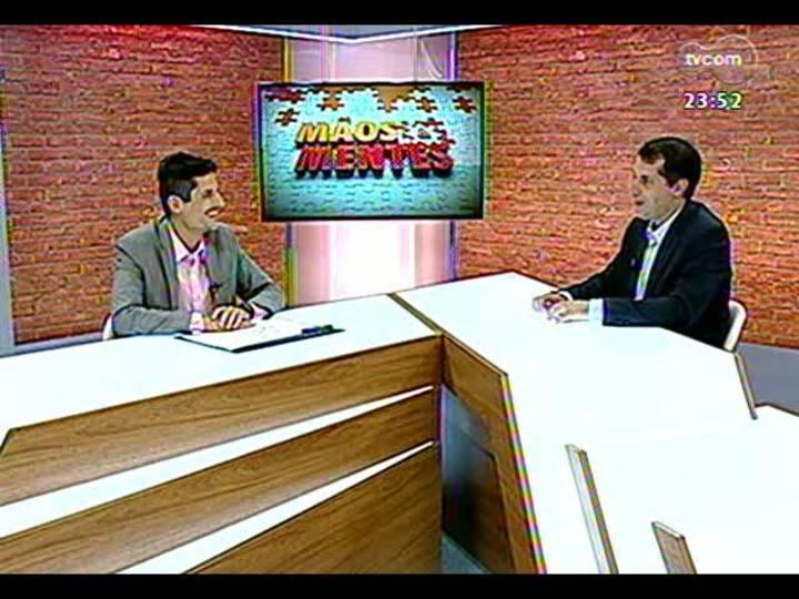 Mãos e Mentes - Presidente do Conselho Diretor da Junior Achievement/RS, José Antônio Verdi - Bloco 4 - 20/03/2013