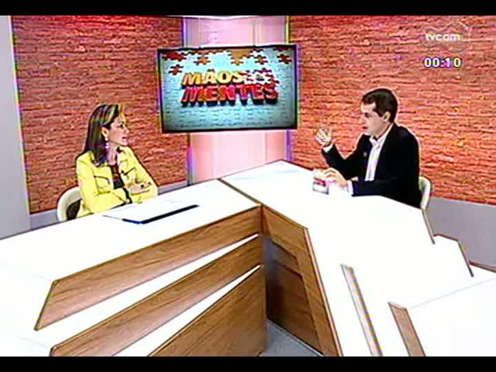 Mãos e Mentes - Coordenadora do InovaPoa, Deborah Villela - Bloco 4 - 06/06/2013