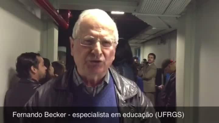 Os Monstrinhos e a Educação - Professor da UFRGS, Fernando Becker - 11/06/2013