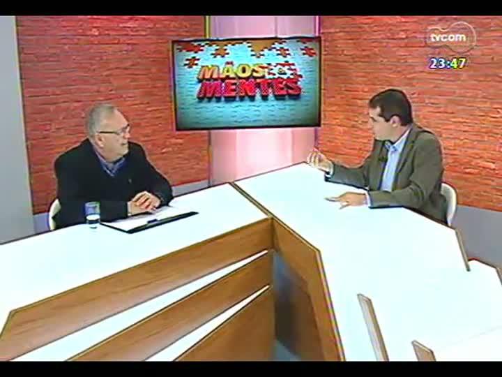 Mãos e Mentes - Gustavo Feddersen, sócio-diretor da Axell Banheiras e Spas - Bloco 2 - 05/08/2013