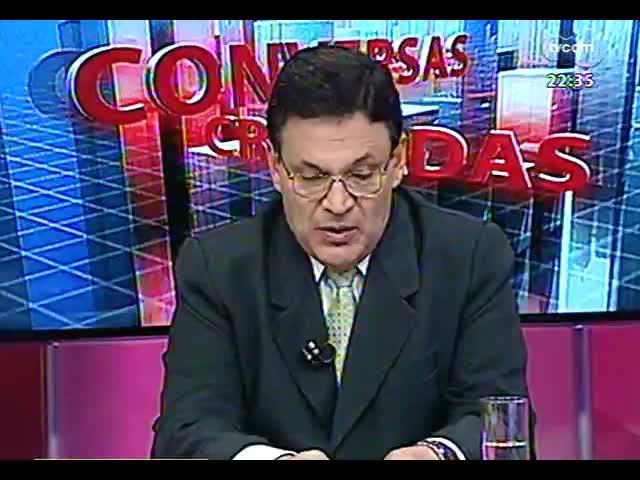 Conversas Cruzadas - As relações entre o governo e o magistério na discussão do piso salarial da categoria - Bloco 2 - 15/10/2013