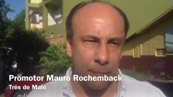 Promotor Mauro Rochemback fala sobre leite adulterado usado para fabricar queijos.07/11/2013