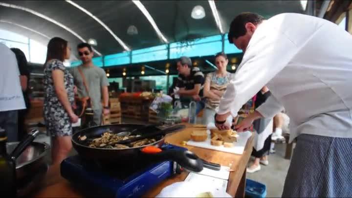 Gastronomia - Prato de Mix de Cogumelos