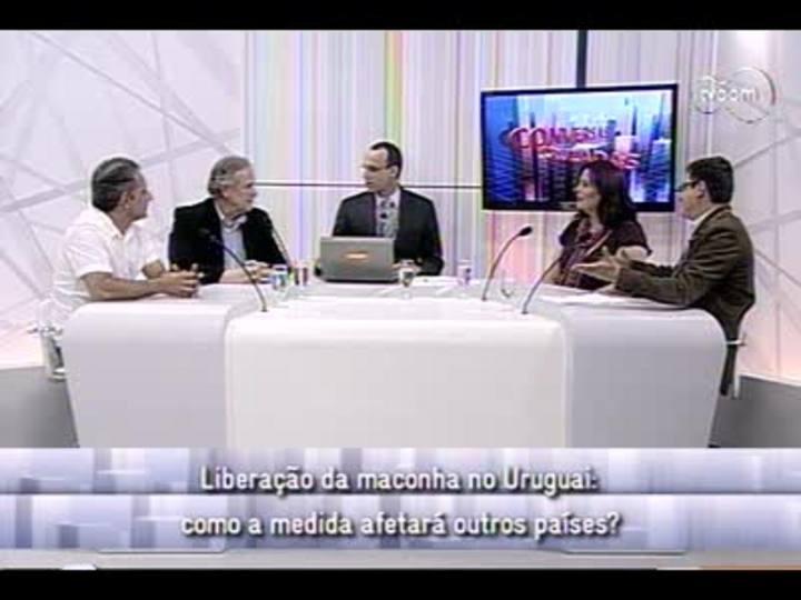 Conversas Cruzadas - 3o bloco - Liberação da maconha no Uruguai - 13/12/2013