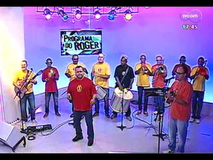 Programa do Roger - Os 35 anos da Banda Saldanha - Bloco 1 - 23/12/2013