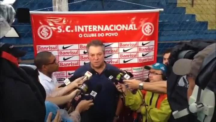 Abel Braga fala após derrota do Inter contra o Veranópolis - 23/02/2014