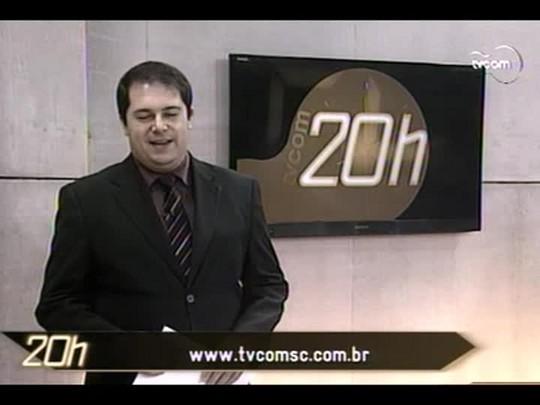TVCOM 20 Horas - Engenheiros do CREA-SC querem rigor na fiscalização das obras do Contorno Viário - Bloco 2 - 24/06/14