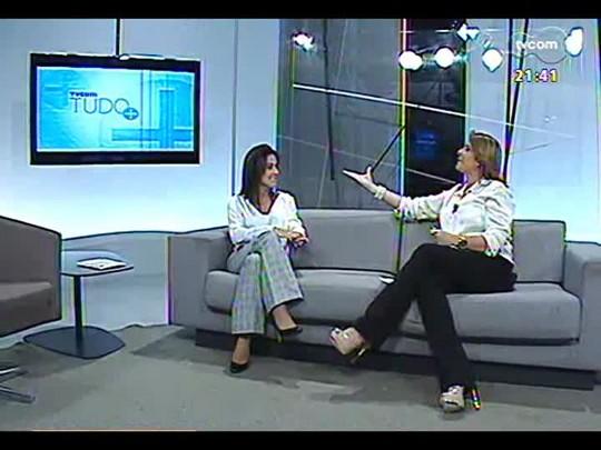 TVCOM Tudo Mais - \'Rede Social\': Fernanda Pandolfi fala sobre férias