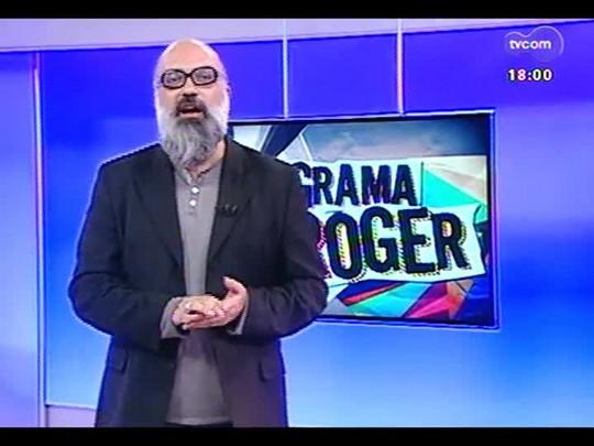 Programa do Roger - Entrevista com Alceu Valença e Moisés Sepúlveda - Bloco 2 - 19/08/2014