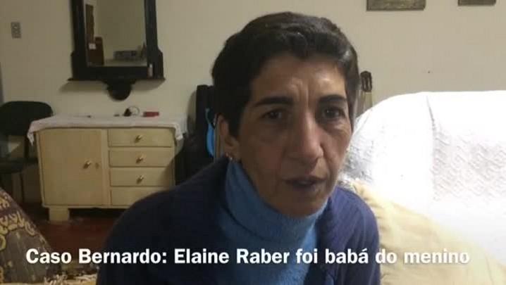 Babá de Bernardo fala sobre agressões da madrasta ao menino.