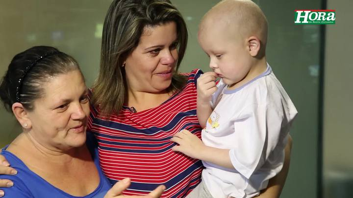 Após transplante de fígado, João Vitor chega em Florianópolis