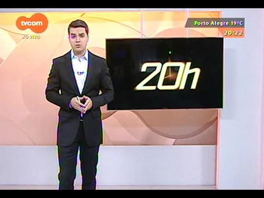 TVCOM 20 Horas - Polícia tenta localizar outros 3 suspeitos de envolvimento na morte de brigadiano dentro de um ônibus - Bloco 3 - 20/10/2014