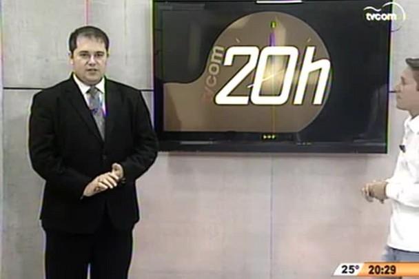 TVCOM 20h - Entrevista do presidente afastado da Alesc César Faria - 12.11.14