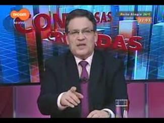Conversas Cruzadas - Debate sobre os reflexos do Dólar na economia - Bloco 1 - 17/12/2014