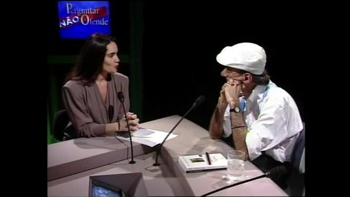 Caio Fernando Abreu - Sobre de onde vem as as ideias para escrever - Entrevista concedida à TVCOM em 1995