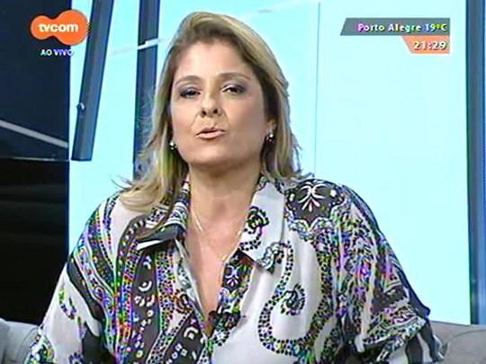 TVCOM Tudo Mais - Um mês sem reclamar: a jornalista Flávia Seligman conta como foi essa experiência