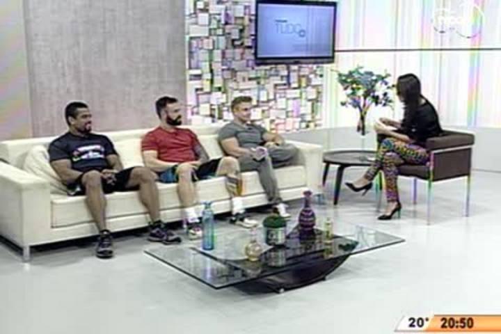 TVCOM Tudo+ - A carreira de fisiculturista: como se tornar um atleta + alimentação e treinamento - 04.06.15
