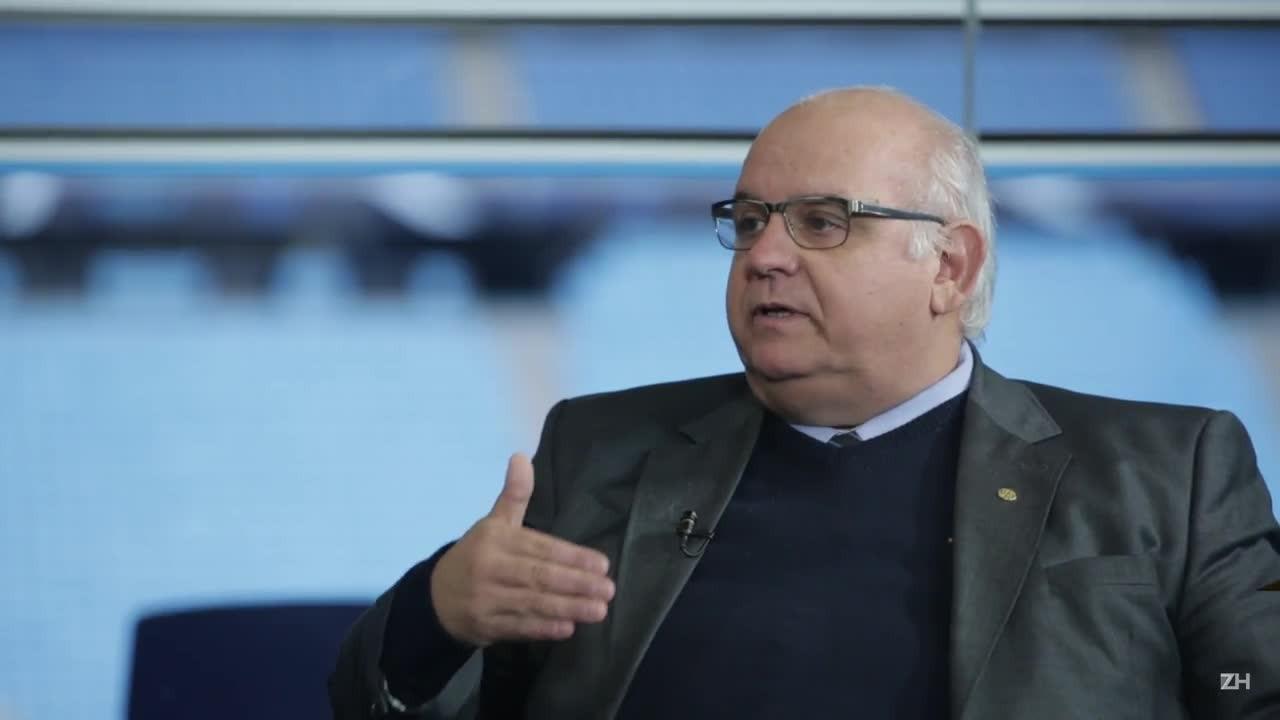 Romildo Bolzan fala sobre a situação financeira do Grêmio