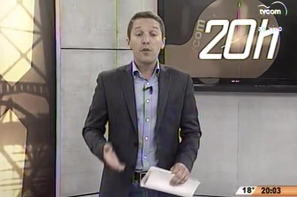 TVCOM 20 Horas - Quatro servidores públicos de Dionísio Cerqueira são presos pela Polícia Civil - 01.07.15