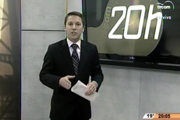 TVCOM 20 Horas - Marcada data para a inauguração do Hospital Regional de Biguaçu - 07.07.15