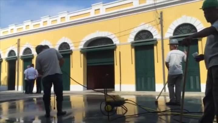 Mercado Público de Florianópolis recebe os últimos retoques