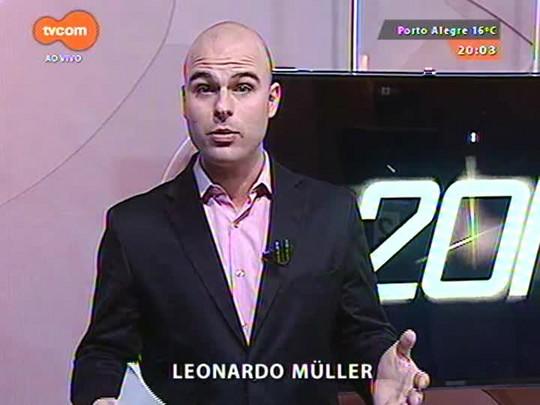 TVCOM 20 Horas - Congresso em São Paulo discute o futuro da mobilidade urbana no Brasil - 10/09/2015