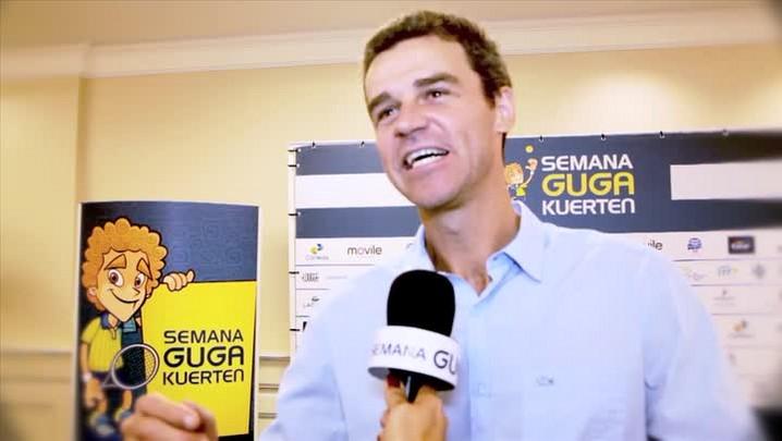 Gustavo Kuerten comenta sobre os preparativos para a Semana que leva seu nome