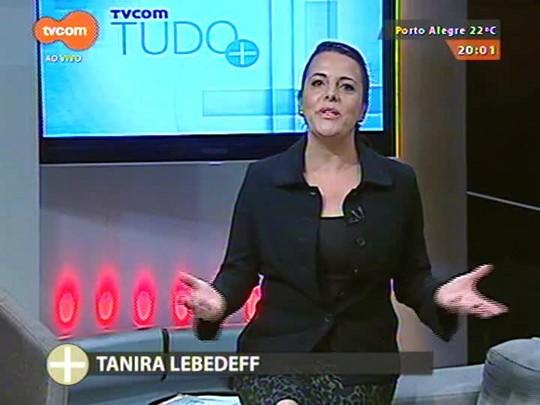 TVCOM Tudo Mais - Airton Ortiz passa a faixa de Patrono da Feira do Livro de POA para Dilan Camargo