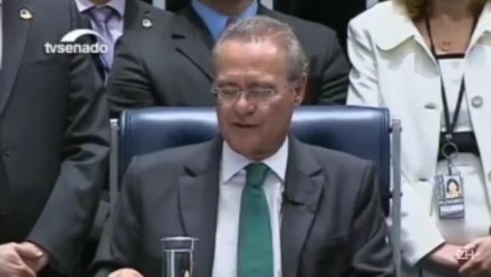 Veja um resumo de três minutos da sessão do Senado que afastou Dilma da Presidência