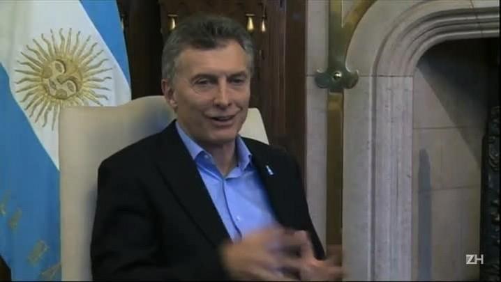 Macri recebe Serra