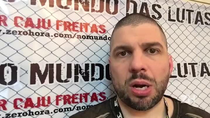 Caju Freitas comenta a vitória de José Aldo