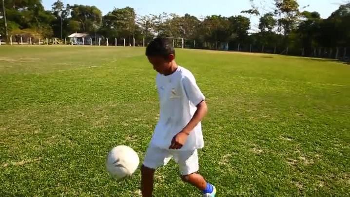 Menino de Florianópolis é selecionado para peneira do Real Madrid, na Espanha