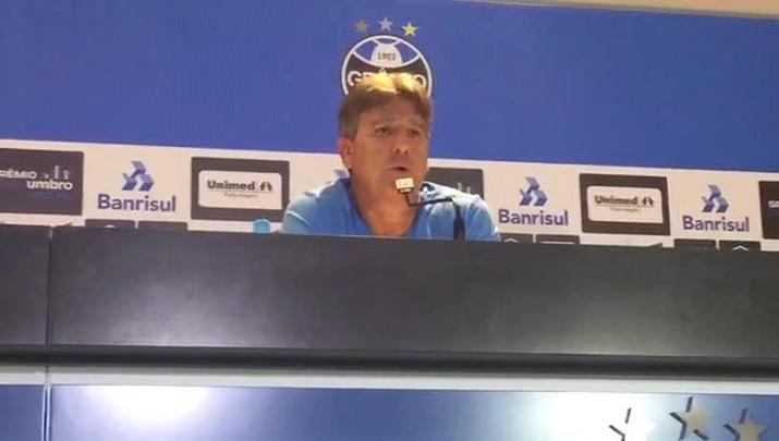 Renato fala sobre reação de Henrique Almeida