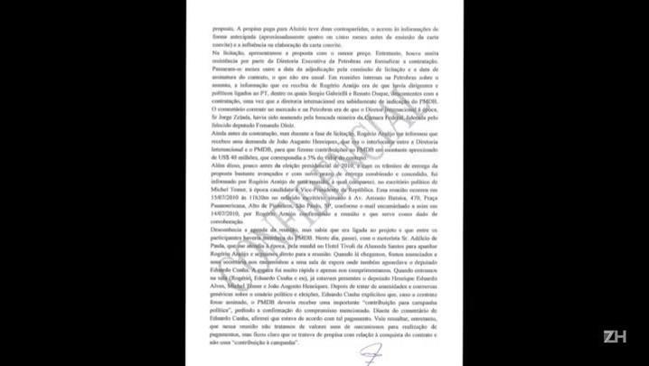 Ex-executivo da Odebrecht indica Temer em delação premiada