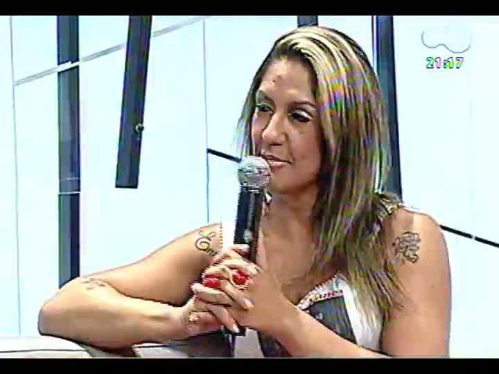 TVCOM Tudo Mais - Madrinha de bateria da Imperadores do Samba