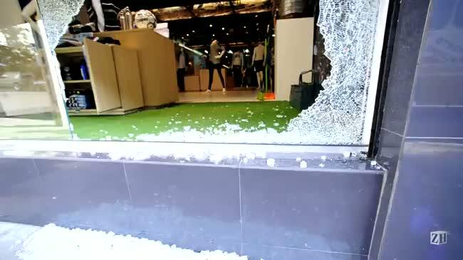 Loja Grêmio Mania é arrombada na Capital