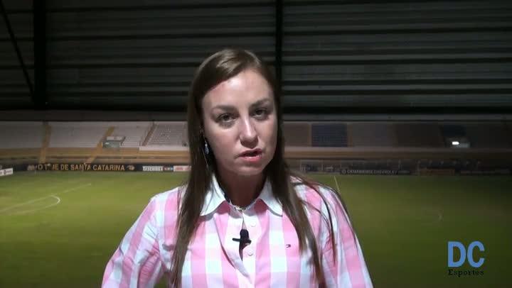 Cleidy Mary Ribeiro analisa arbitragem do jogo entre Criciúma e Chapecoense
