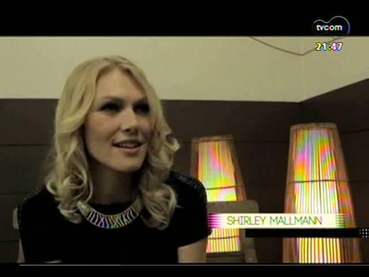 TVCOM Tudo Mais - Entrevista com a top model Shirley Mallmann