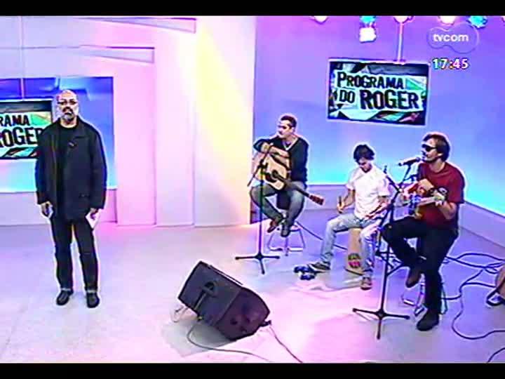 Programa do Roger - Confira a participação dos músicos da banda ManiMani - bloco 1 - 28/06/2013