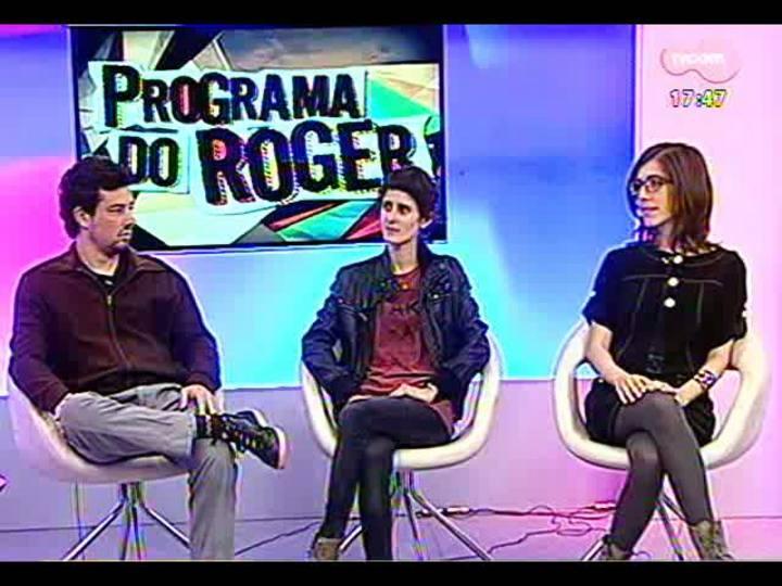 Programa do Roger - Confira o bate-papo com artistas da exposição Campo Magnético - bloco 1 - 05/07/2013