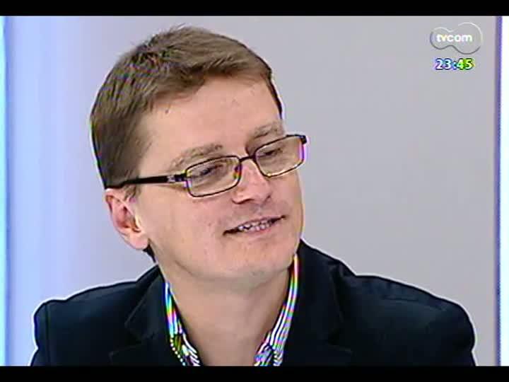Mãos e Mentes - Executivo de negócios da Racon Consórcios, Cleber Sanguanini - Bloco 2 - 08/07/2013