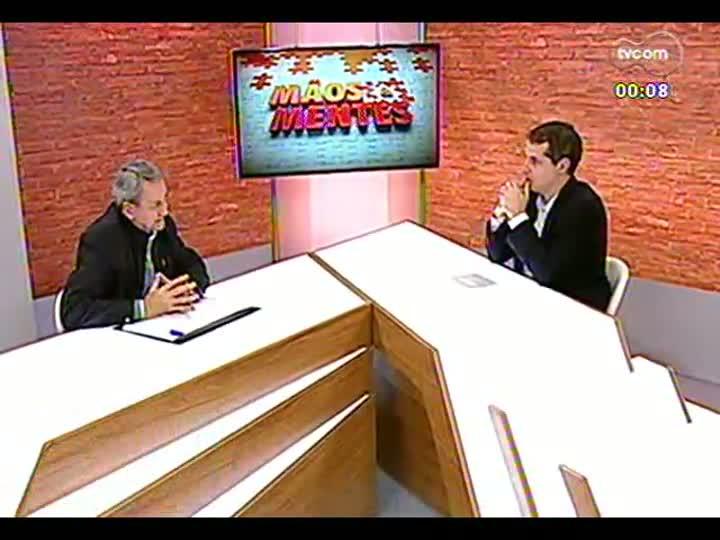 Mãos e Mentes - Rogério Kerber, diretor executivo do Sindicato da Indústria de Produtos Suínos - Bloco 4 - 09/07/2013.