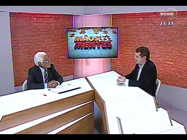 Mãos e Mentes - Ex-governador do Estado Alceu Collares - Bloco 3 - 27/10/2013