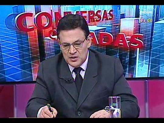 Conversas Cruzadas - Debate sobre governo do Estado e municípios, que divergem sobre repasses financeiros - Bloco 4 - 04/12/2013