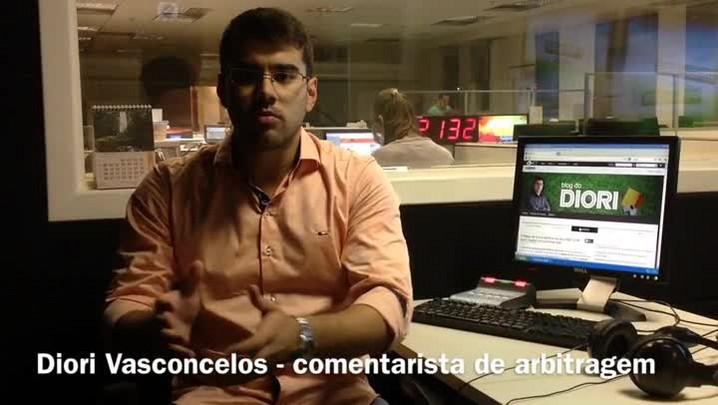 Diori Vasconcelos analisa arbitragem de Passo Fundo 1 x 2 Internacional. 26/01/2014